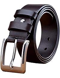 Nicaro Cinturón de cabeza con hebilla de pin ajustable para hombres 7aa084d2ab90