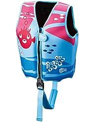 Beco de Sealife-Chaleco salvavidas para niños en diferentes colores y Tamaños, color rosa, tamaño medium