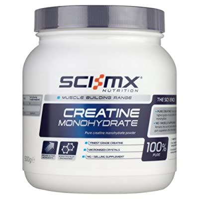 Sci-MX Nutrition Pure Creatine Monohydrate Powder, 500g from Sci-mx Nutrition Ltd