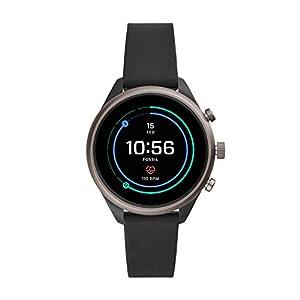 Fossil Damen-Smartwatch mit Silikon Armband