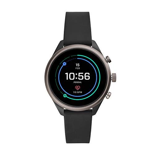 Fossil Damen-Smartwatch mit Silikon Armband FTW6024