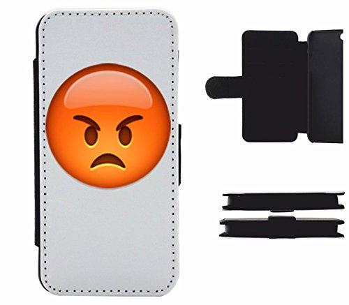 """Leder Flip Case Apple IPhone 4/ 4S """"Schmollendes Gesicht"""", der wohl schönste Smartphone Schutz aller Zeiten."""