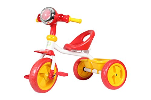 HLX-NMC KIDS CRUISER BIKE TRICYCLE RED/YELLOW  available at amazon for Rs.1700