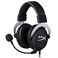 HyperX HX-HS5CX-SR Cloud X, Cuffie Gaming con Controlli Audio