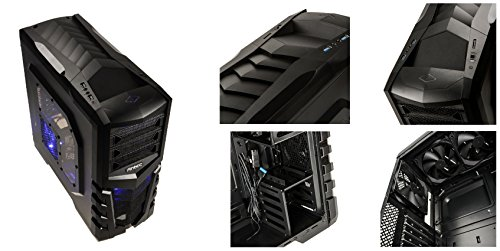 Sedatech - Gaming PC Advanced Intel i7-4790 4x3.6GHz, Radeon R7 250X 1024Mb, 16GB RAM, 2000GB HDD, 250GB SSD, USB 3.0, 80+ Netzteil, Win 7, Win 7 - Home, Office, Family, Gaming PC, PC Gamer, Multimedia, Desktop PC, Computer, Rechner