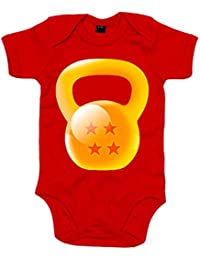 Body bebé Crossfit kettlebell Dragon Ball Bola De Dragón