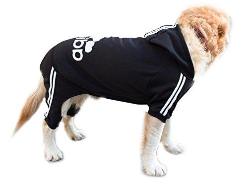 Scheppend Adidog Grand Chien Hoodies Sweat-shirt Chien de compagnie Manteau d'hiver Sport Vêtements Apparel