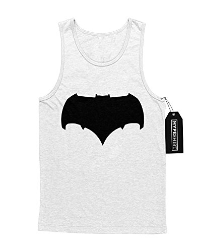 Tank-Top Batman V Superman Logo Wonderwoman Aquaman DC Comic Kostüm C980002 Weiß