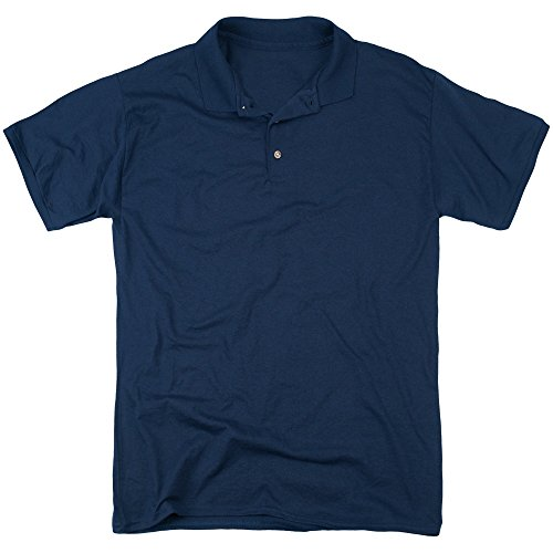 Bettie Page Herren Poloshirt Navy