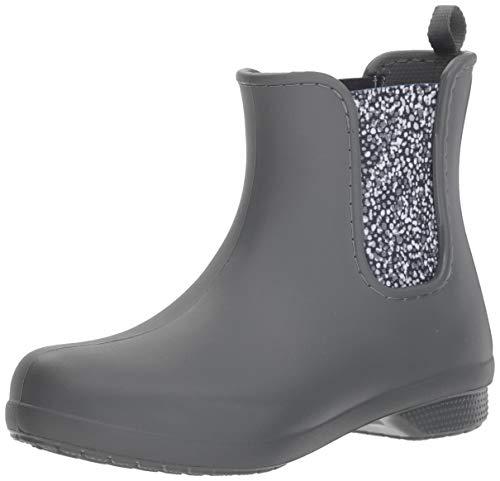 Bild von crocs Damen Freesail Chelsea Boot Women Gummistiefel, Granit, One Size