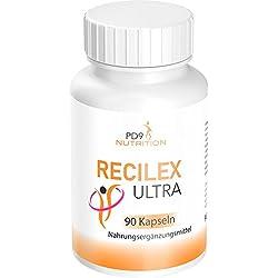 Recilex Ultra Fatburner + Schnell & Erfolgreich Abnehmen, 90 Kapseln