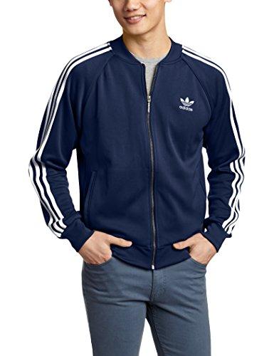 Adidas Superstar Veste de jogging pour homme Bleu - Bleu marine