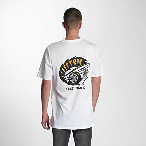 Electric Uomo Maglieria/T-Shirt Fast Time Pocket Bianco
