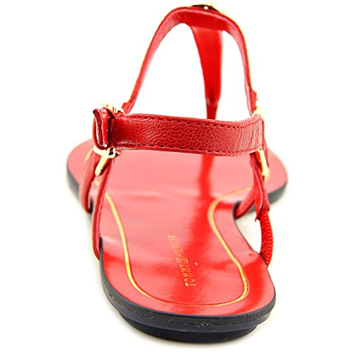 Tommy Hilfiger Darcie 2 Femmes Cuir Sandale Medium red