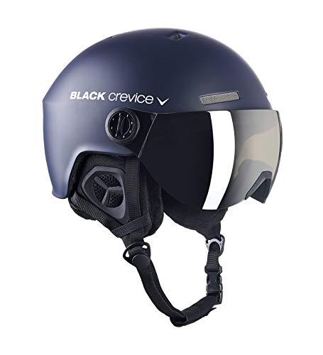 Black Crevice Erwachsene Skihelm Gstaad