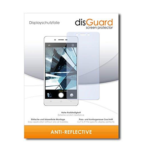 disGuard® Bildschirmschutzfolie [Anti-Reflex] kompatibel mit Oppo Mirror 5 [4 Stück] Entspiegelnd, Matt, Antireflektierend, Extrem Kratzfest, Anti-Fingerabdruck - Panzerglas Folie, Schutzfolie