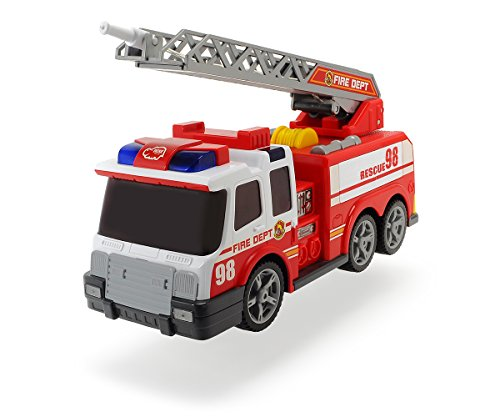 feuerwehrauto lena Dickie Toys 203308358 - Action Series Fire Brigade, Feuerwehrauto inklusive Batterien, 36 cm