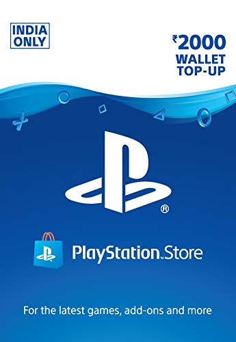 Rs.2000 Sony PlayStation Network Wallet Top-Up (Email Delivery in 1 hour- Digital Voucher Code)