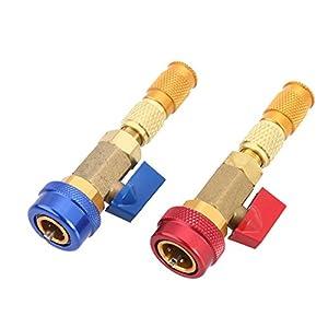 instalador aire acondicionado: WINOMO 2piezas R134A coche aire acondicionado válvula Core Remover instalador ...