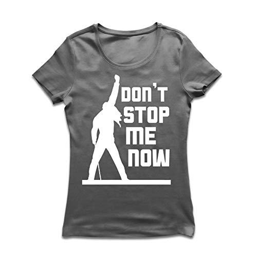 lepni.me Camiseta Mujer Don't Stop me Now! Camisas de Abanico,...