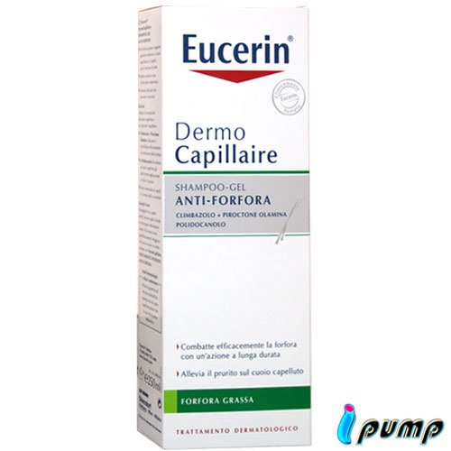 Eucerin Dermo Capillaire Shampoo Gel Anti-Forfora 250 ml