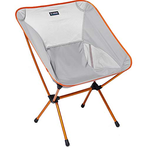 Helinox Chair One XL,Campingstuhl,Faltstuhl,Aluminium,leicht,stabil,faltbar,inkl Tragetasche,Grey,one Size