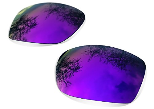 sunglasses restorer Kompatibel Ersatzgläser für Oakley Eyepatch 2 (Polarisierte Purple Mirror Linsen)
