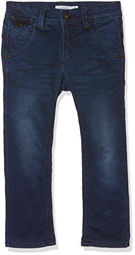 NAME IT Baby-Jungen NITTWIC Bag/Slim DNM Pant NMT NOOS Jeans, Blau (Dark Blue Denim), 104 Slim Denim Pant