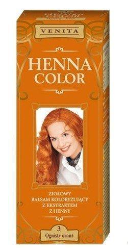 Henne Color 3 Fiaeggiante Arancione Balsamo Per Capelli Colore Capelli Effetto Colore Eco Gallina Tintura Di Capelli Naturali