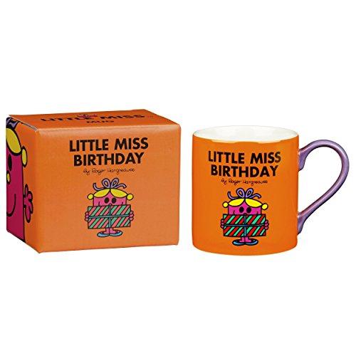 Mug Monsieur Madame Motif « Little Miss Birthday » Orange