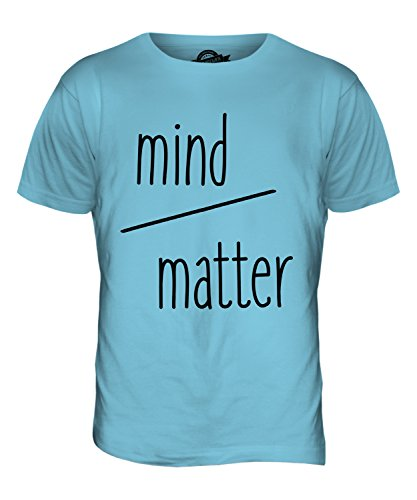 CandyMix Mind Over Matter Willenssache Herren T Shirt Himmelblau