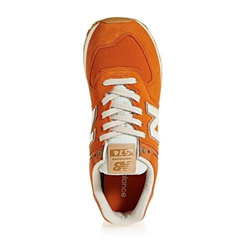 New Balance Ml574v2, Sneaker Uomo Arancione