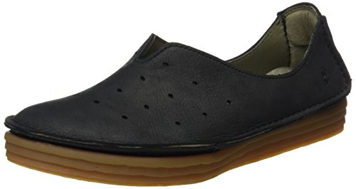 El Naturalista Nf88 Pleasant Rice Field, Ballerines Derby Femme Noir (Black)