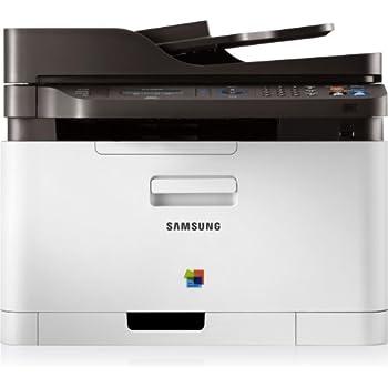 Samsung CLX-3305FN/TEG CLX-3305FN 4-in-1 Multifunktionsgerät (Drucker, Kopierer, Scanner, Faxen, USB 2.0)