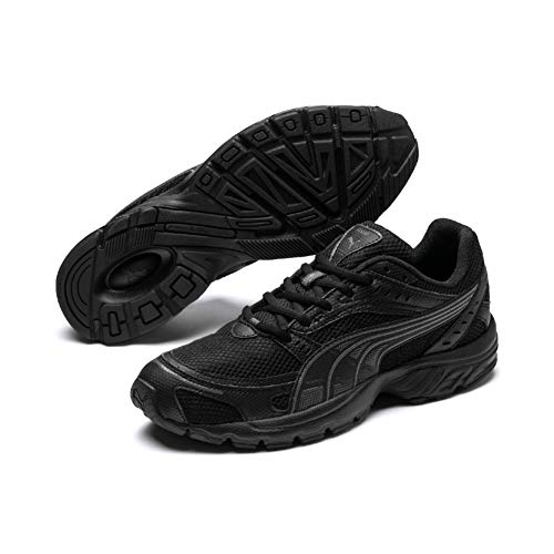 Puma Unisex-Erwachsene Axis Fitnessschuhe, Schwarz Black-Asphalt, 43 EU
