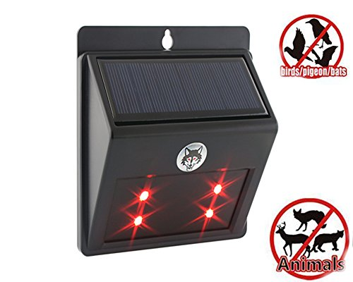 solar-animal-repellent-led-light-with-waterproof-motion-sensor-ultrasonic-deterrent-scarer-black-vso