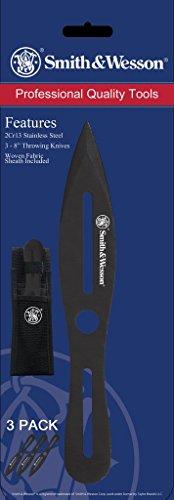 Smith & Wesson SWTK8BCP Wurfmesser Drei Stück