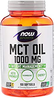 Now Foods, Sports Mct Oil 1,000 Mg, 150 Softgels