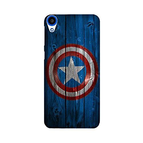HTC Desire 820/820G Back Cover - StyleO Premium Quality Designer Printed Case & Cover for HTC Desire 820 (Captain America)