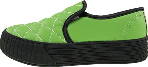 Maxstar  C30-Stitch,  Damen Sneaker Low-Tops TC-Green