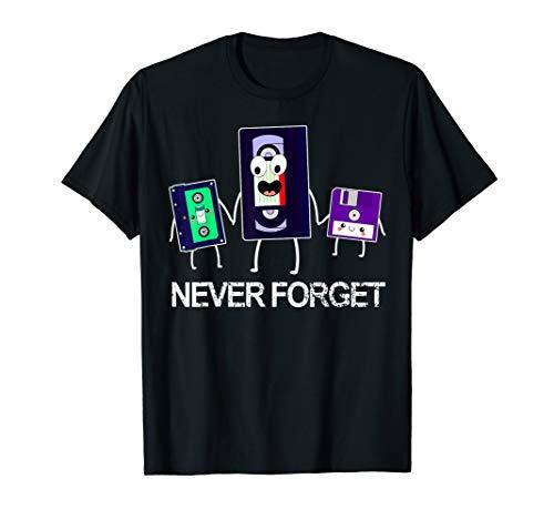 Retro Shirt I 90er JahreTShirt I 90er Jahre Mode Accessoires T-Shirt