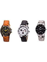 Watch Me Gift Combo Set Of Analog Watches For Men And Boys AWC-011-AWC-013-AWC-014 AWC-011-AWC-013-AWC-014omtbg