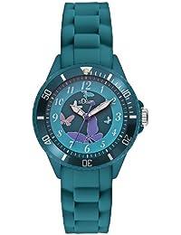 s.Oliver Mädchen-Armbanduhr Analog Quarz SO-2597-PQ