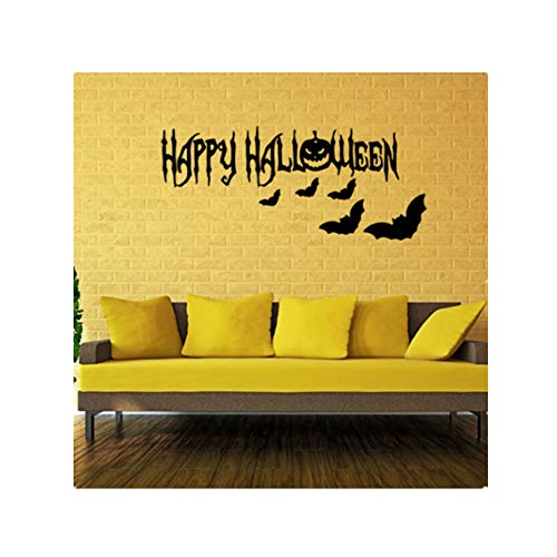Cosanter Halloween Wandaufkleber, Fensteraufkleber, Innen Dekoration Aufkleber, Entfernbar