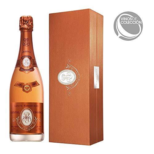Roederer Louis Cristal Brut Rosé Champagner 2007/2009 mit Geschenkverpackung (1 x 0.75 l)