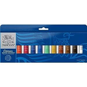 Winsor & Newton Cotman Watercolour 12 Tube Set