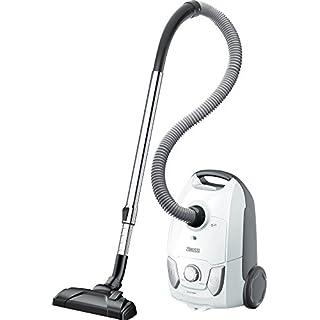Zanussi ZAN4100IW Easy Go Bagged Cylinder Vacuum Cleaner, 750 W, 3 liters, Ice White