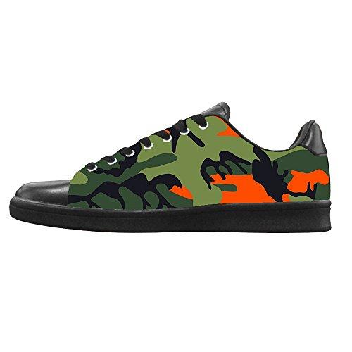 Dalliy tarnung Men's Canvas shoes Schuhe Lace-up High-top Sneakers Segeltuchschuhe Leinwand-Schuh-Turnschuhe B