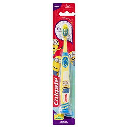 Colgate Smiles Junior 6+ Jahre weichen Zahnbürste, Farblich Sortiert -
