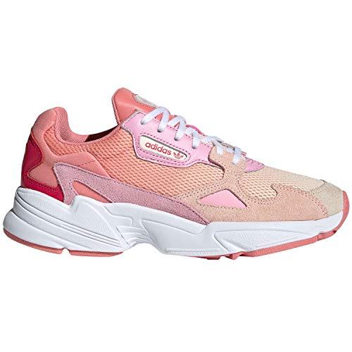 adidas Originals Falcon W Damen Sneaker rosa (42 2/3 EU) - Falcons Damen Tops